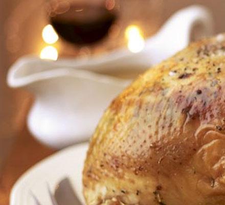 Proper turkey gravy