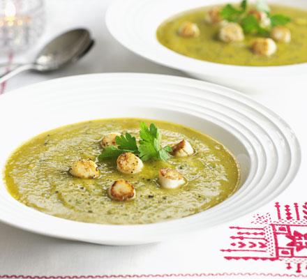 Squash & nigella seed soup