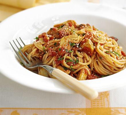 Quick springtime pasta