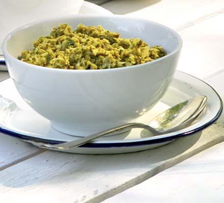 Pea & artichoke houmous