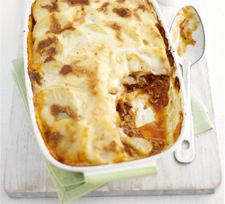 Lamb & potato bake