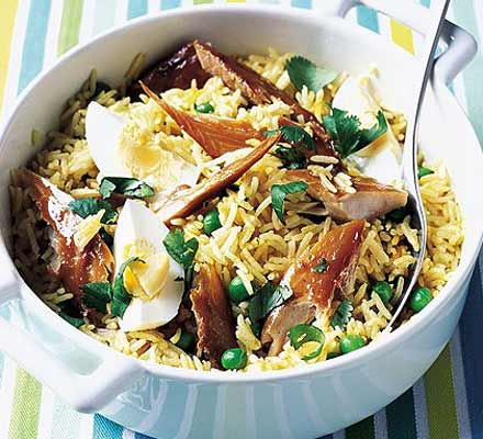 20-minute rice supper