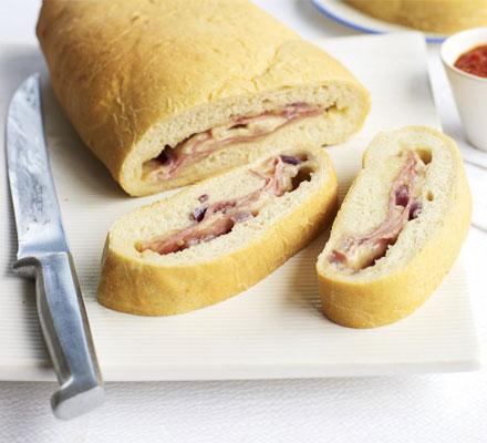 Pizza picnic bread
