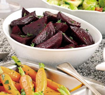 Honey-roast beetroot