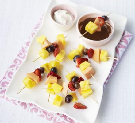 Fruity fondue