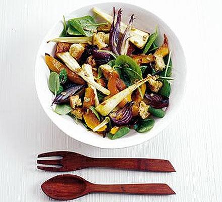 Honeyed winter salad