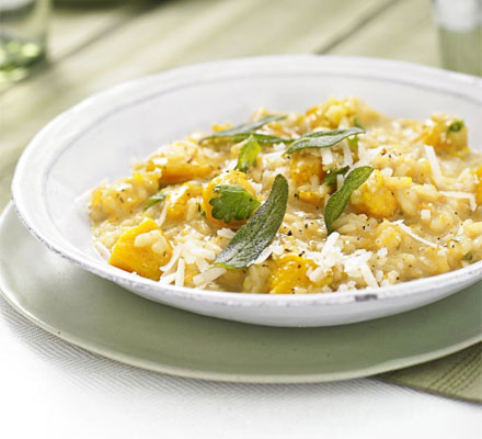 The ultimate makeover: Risotto with squash & sage