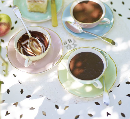 Chocolate tea-pots