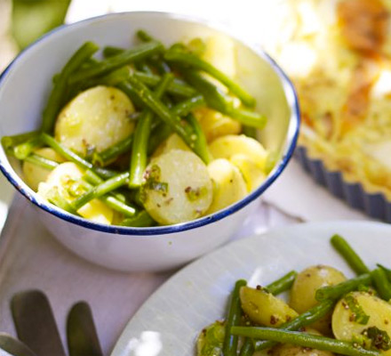 New potato & green bean salad