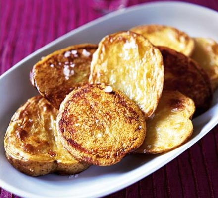 Olive oil-baked potatoes