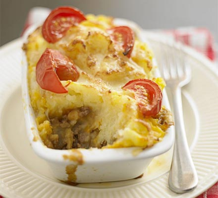 Tasty cottage pies