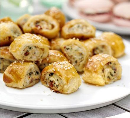 Summer sausage rolls