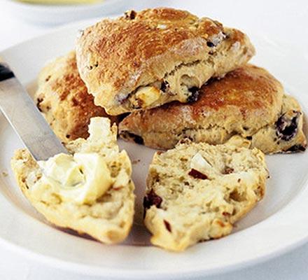 Mediterranean scones