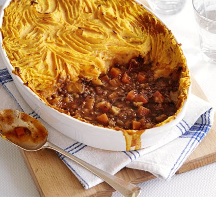 The ultimate makeover: Shepherd's pie