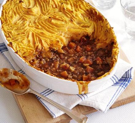 The ultimate makeover: Shepherd's pie
