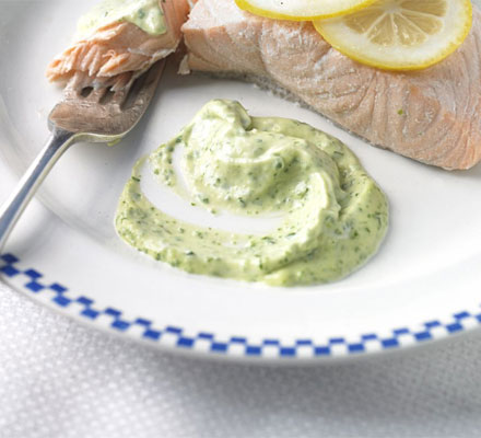 Watercress mayonnaise