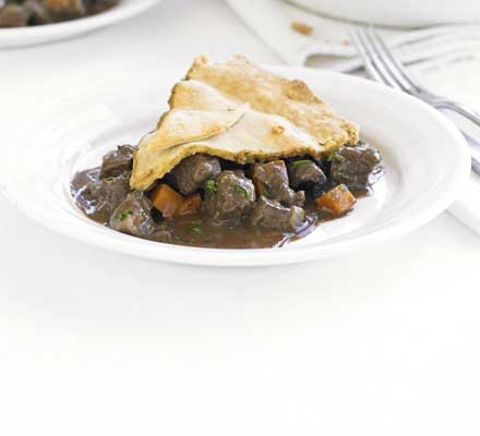 The ultimate makeover: Steak & kidney pie