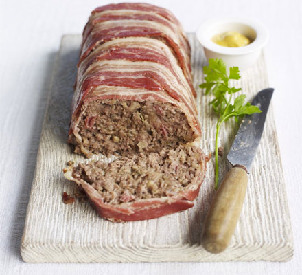 Beef & bacon meatloaf