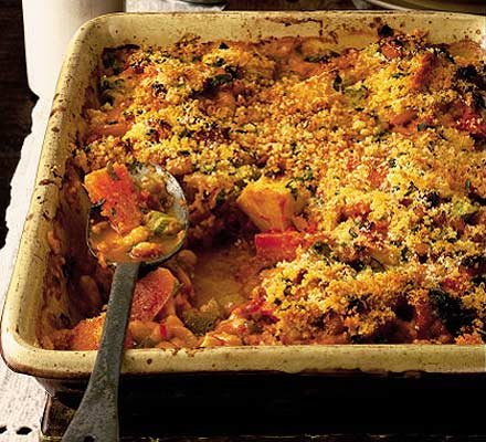 Roast vegetable cassoulet