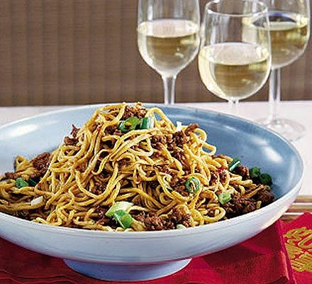 Peking-style noodles
