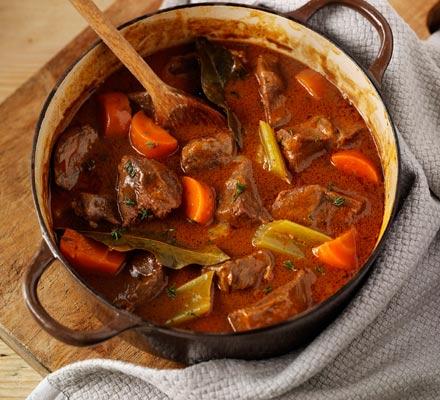 Beef & vegetable casserole