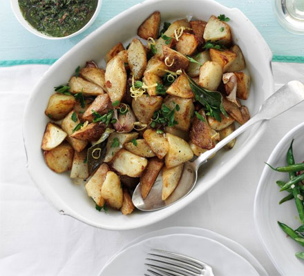 Summer sautéed potatoes