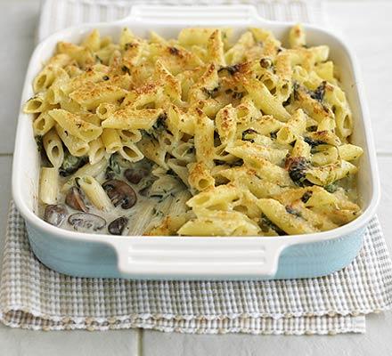Fiorentina baked pasta