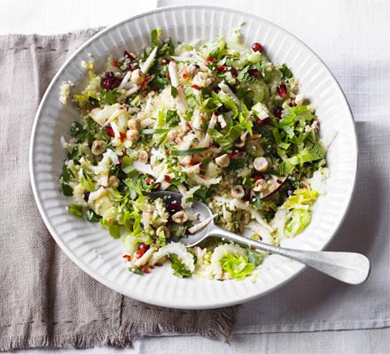 Herby celery & bulghar salad