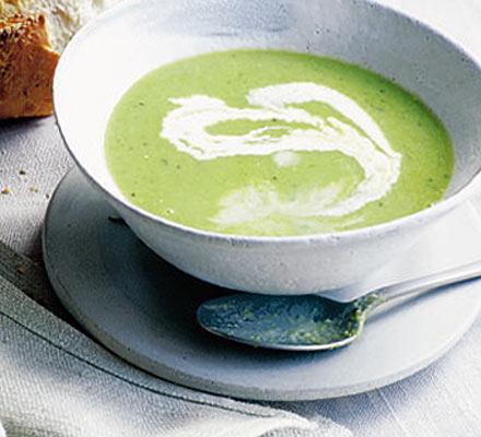Pea & savory soup