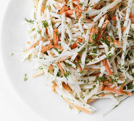 Celeriac & carrot remoulade