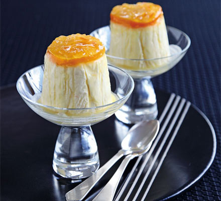 Clementine & Grand Marnier semi-freddos