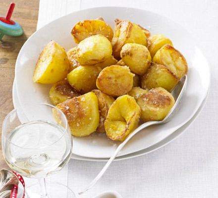 Crispy golden spuds