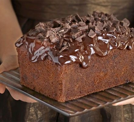 Dense & dark chocolate loaf