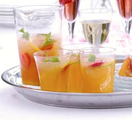 Citrus peach cooler