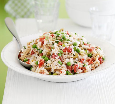 Help-yourself tuna rice salad