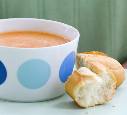 Real tomato soup