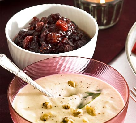 Cranberry & Champagne sauce