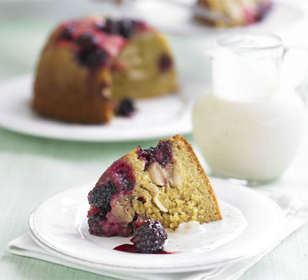 The ultimate makeover: Sponge pudding & custard