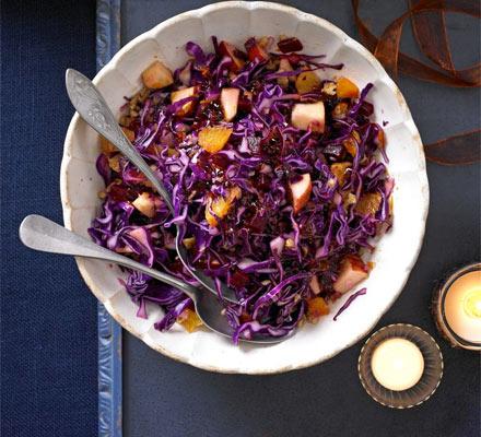 Festive red salad