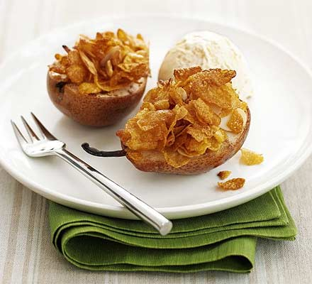 Honey nut crunch pears