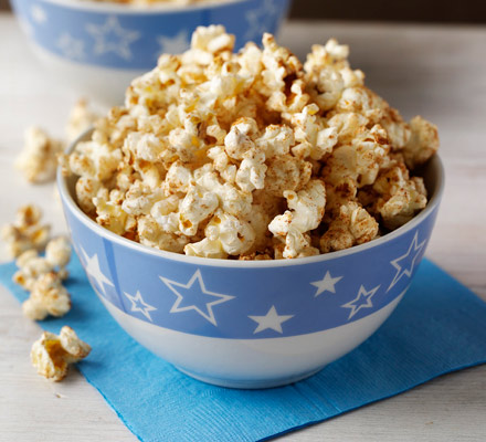 Sweet & spicy popcorn
