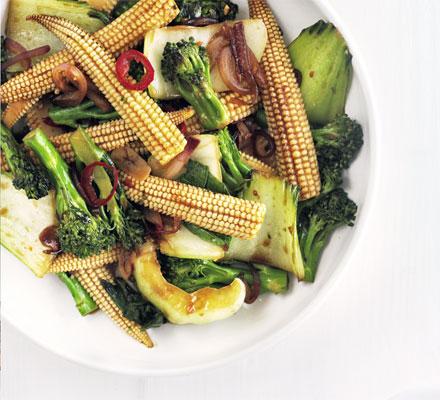Ten minute stir-fry