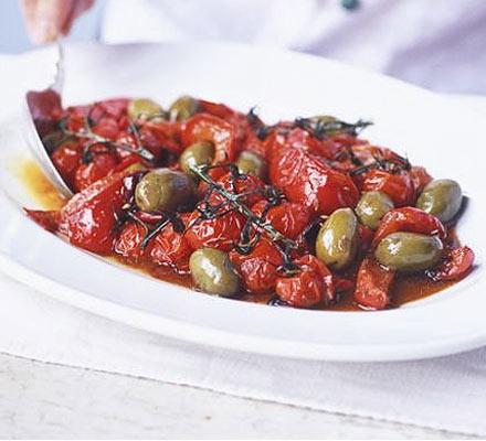Cumin roast peppers & tomatoes