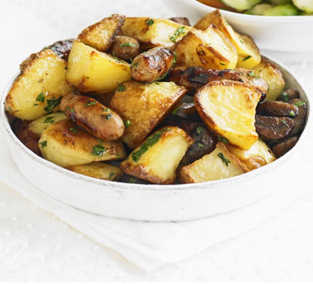 All-the-trimmings roast potatoes