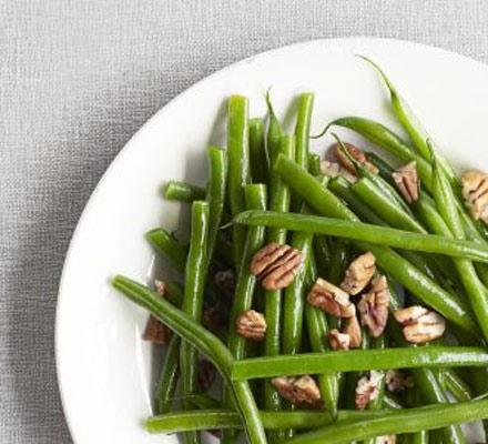 Maple pecan beans