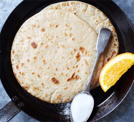 Egg-free pancakes