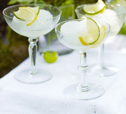 Gin & tonic sorbet
