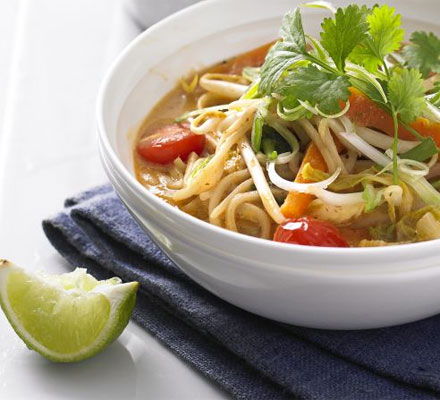 Thai coconut & veg broth