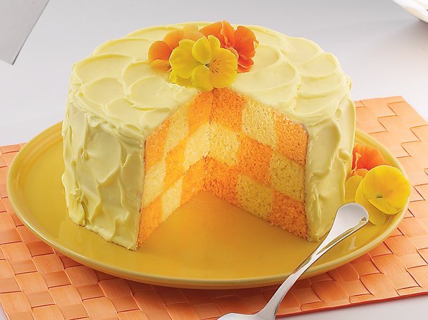 Party Checkerboard Cake