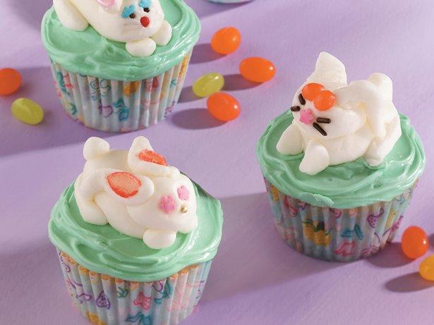 Sweet Bunny Cupcakes